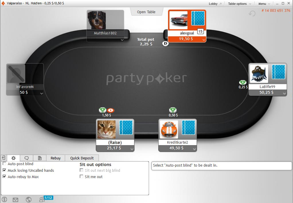party_poker_table