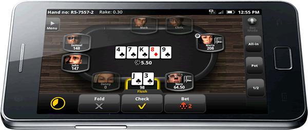 Лучшие покер-румы на Андриод