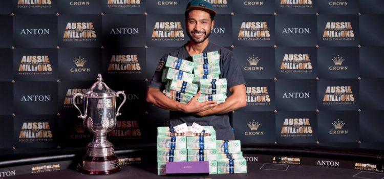 Шурейн Виджайарам – победитель Aussie Millions 2017