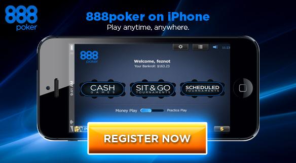 Советы по загрузке 888Покер на Айфон
