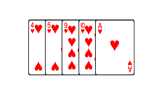 Старшинство Флешей в покер