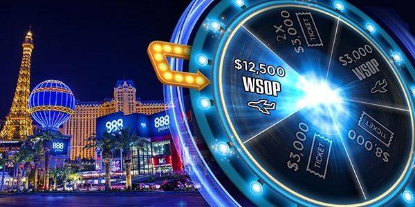 888 Покер разыгрывает путевку в Лас-Вегас