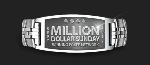 GTD Million Dollar Sundays снова пройдет покер-румах WPN