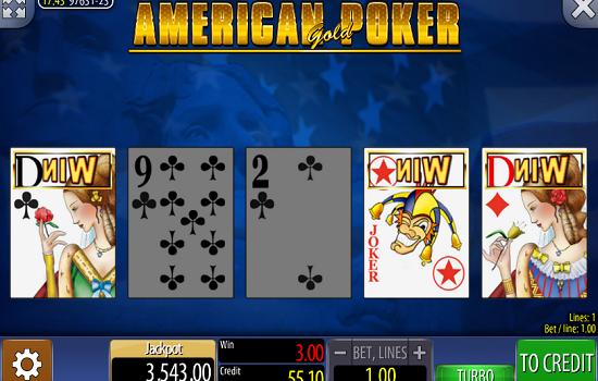Казино автомат American poker