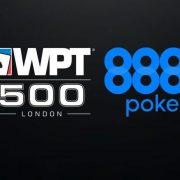 Выиграй билеты на Главное событие WPT500 Лондон на 888Poker