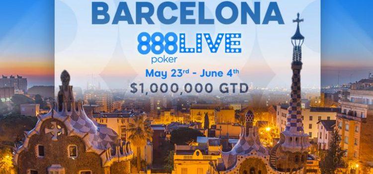 Этап 888 Покер Лайв пройдет в Барселоне