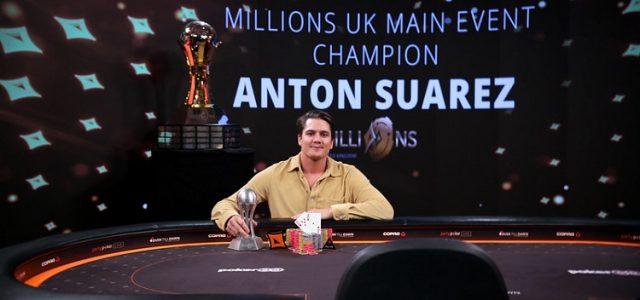 Антон Суарез стал богаче на 1 000 000$! Швед выиграл в Мейн Ивенте partypoker MILLIONS UK