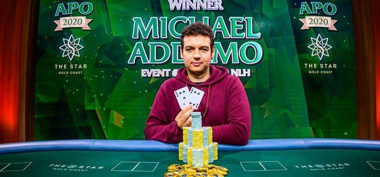 Победа Майкла Аддамо